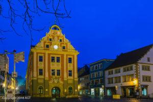 Rathaus Gotha in der Blauen Stunde