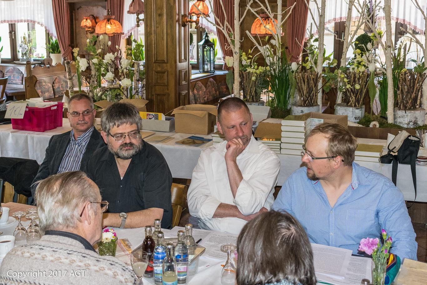 AGT, JHV, Schmalkalden, Silko Ronczka, Thomas Engelhardt, Udo Hagner