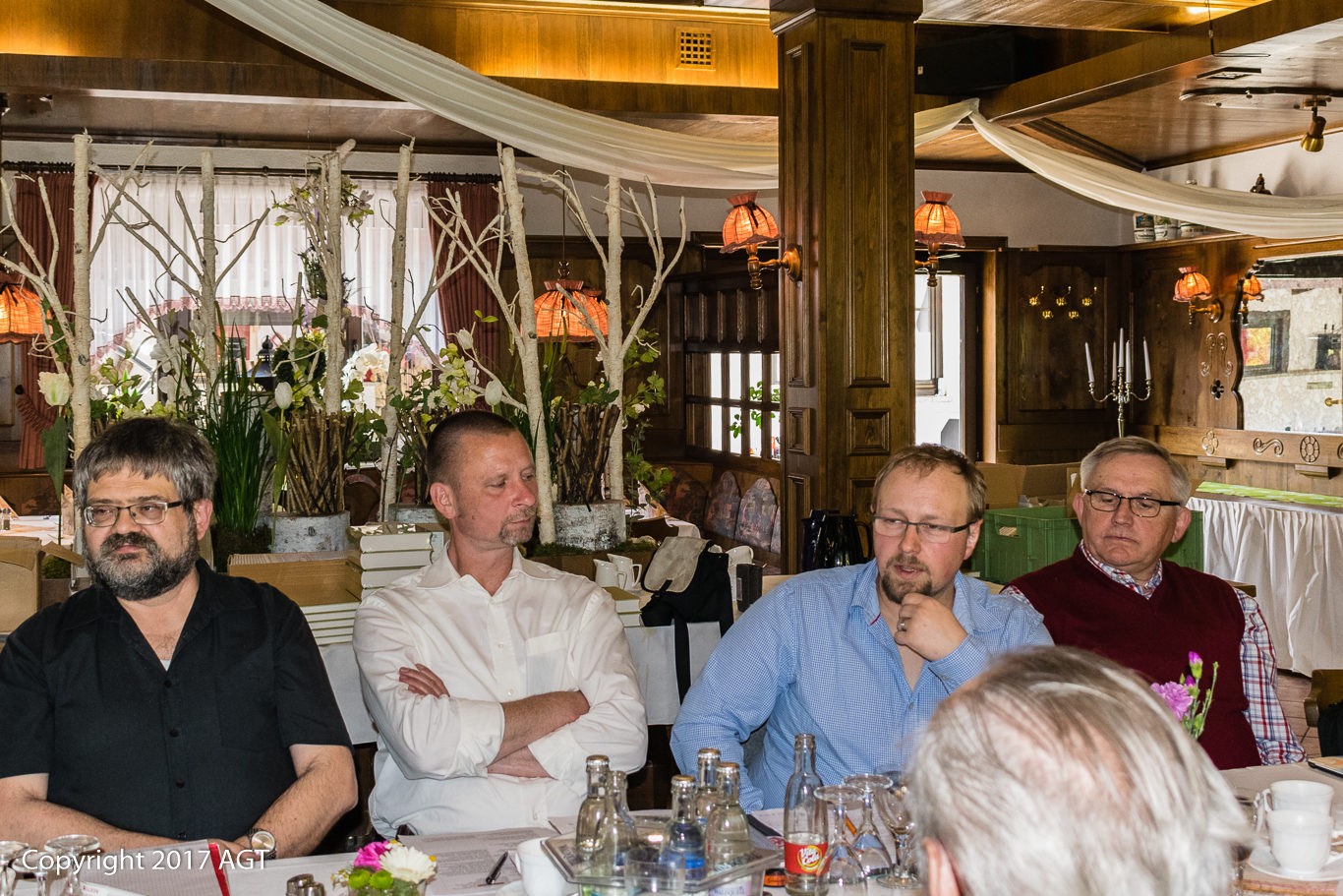 AGT, Christian Kirchner, Heidi Hölscher, JHV, Rainer Mangner, Schmalkalden, Udo Hagner